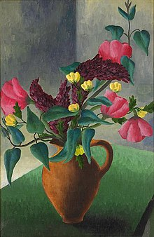 Peter Purves Smith - Vase with flowers, 1940.jpg