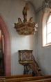 Petersberg Margretenhaun Church St Margareta Pulpit if.png
