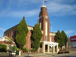 Petersham, New South Wales - Petersham Town Hall, Crystal Street