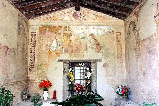 Affreschi nella Cappella della Madonna del Parto (Petroio)