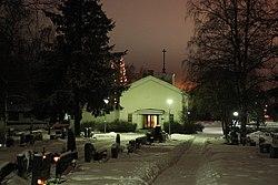 Peurasaari Cemetery Kemi 20111230.JPG