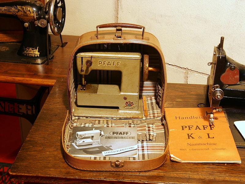 pfaff sewing machine history
