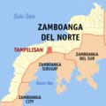 Ph locator zamboanga del norte tampilisan.png