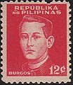 Philippines 12c Burgos stamp in 1944.JPG