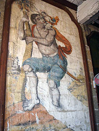 Philippines Paete Church Mural1.JPG