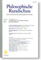 Philosophische Rundschau Cover.png