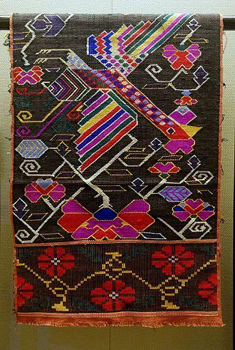 Tujia people - Tujia brocade