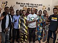 Photo de famille - Atelier Wikimedia à Iroko FabLab à Cotonou.jpg