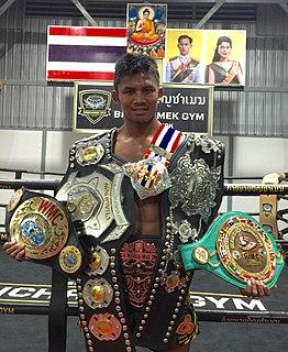 Buakaw Banchamek Thai kickboxer