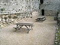 Picnic area by the Constable's House at Portchester Castle - geograph.org.uk - 1085774.jpg