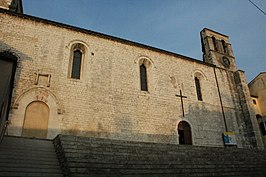 Vista della facciata della Chiesa e Santuario di San Francesco di Piediluco