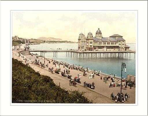 Pier and Pavillion Colwyn Bay Wales