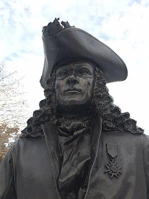 Pierre Le Moyne d'Iberville - Pierre Le Moyne d'Iberville Statue, Ottawa