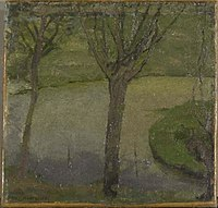 Piet Mondriaan - Irrigation ditch with two willows - 0333295 - Kunstmuseum Den Haag.jpg