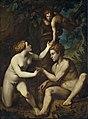 Pietro Facchetti - Adamo ed Eva ricevono dal frutto proibito.jpg