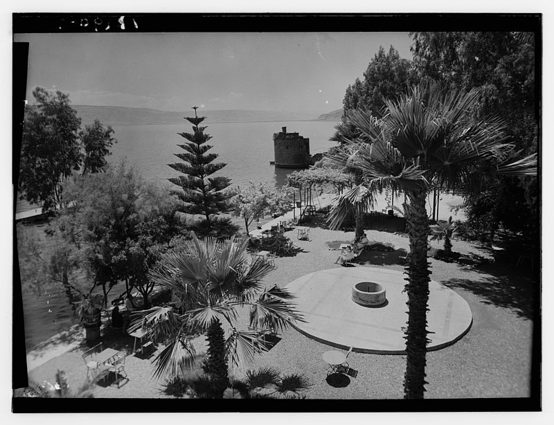 טבריה - הלידן חוף כינרת
