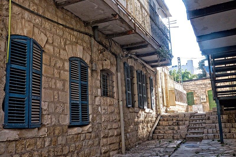 צפת העתיקה,חלונות ותריסים