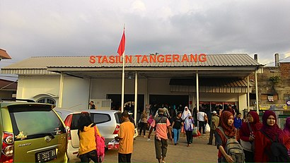 Cara untuk pergi ke Stasiun Tangerang menggunakan Transportasi Umum - Tentang tempat tersebut