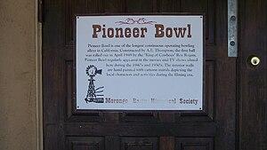 Pioneertown, California - Pioneer Bowl
