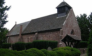 Pitchford village in the United Kingdom