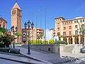 Plaça Ajuntament Mollerussa Spain.JPG