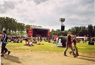 music festival in Werchter, Belgium