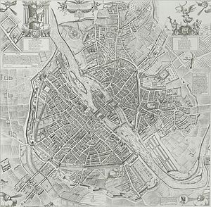 François Quesnel - Image: Plan de Paris en 1609