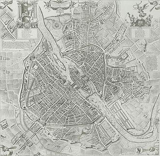 François Quesnel - Image: Plan de Paris en 1609