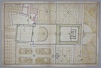 Plan du château, des cours et des jardins de Noisy-le-Roi, 1693.jpg