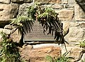 Plaque at the southern abutment of the Second Victoria Bridge, Brisbane 01.jpg