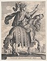 Plate 10- Emperor Titus on Horseback, from 'The First Twelve Roman Caesars' after Tempesta MET DP857115.jpg