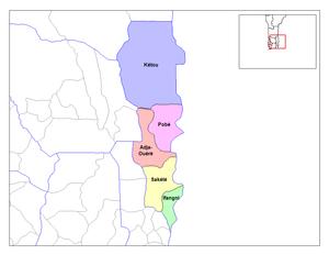 Plateau Department - Communes of Plateau