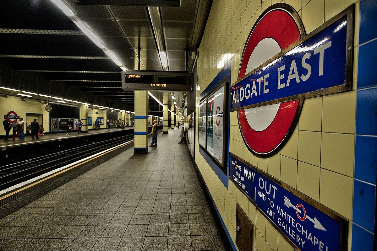 Aldgate East Tube Station Wikipedia