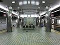 Platform of Tengachaya Station (Sakaisuji Line).jpg