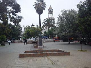Vallenar City and Commune in Atacama, Chile