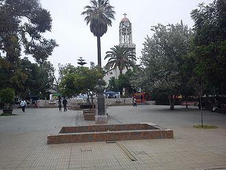 Vallenar - Image: Plaza de Armas de Vallenar