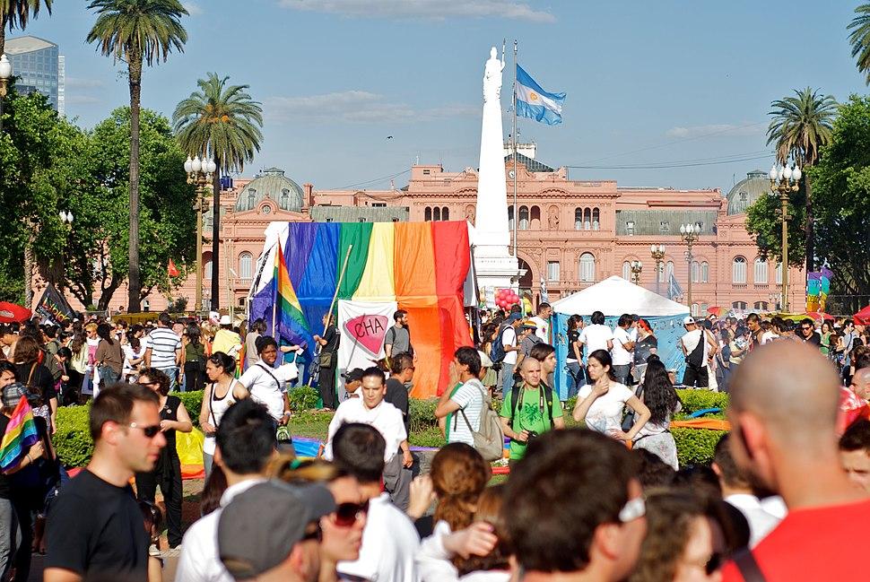 Plaza de Mayo LGBT