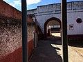 Plaza de toros de Hervas puerta de toriles y corrales.jpg