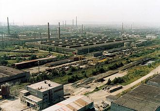 Ural economic region - Chelyabinsk Tube Rolling Plant