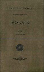 Alessandro Poerio: Poesie