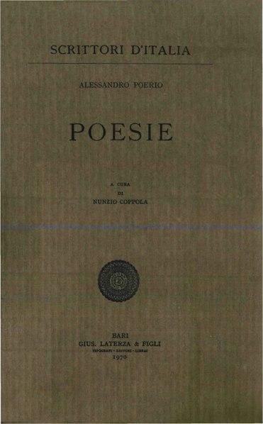 File:Poerio, Alessandro – Poesie, 1970 – BEIC 1894882.pdf