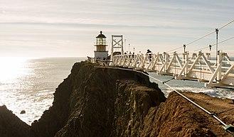 Point Bonita Lighthouse - Point Bonita Lighthouse in 2013