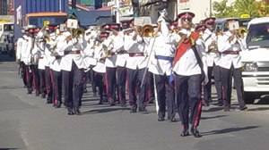 Law enforcement in Saint Lucia - The Royal St Lucia Police Band.