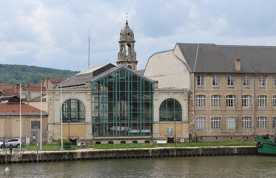 Pont-à-Mousson, market hall