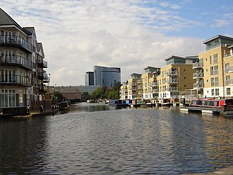 London Borough of Hounslow - Image: Pool of Brentford Lock