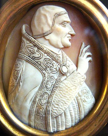 Pope Clement VI Cameo