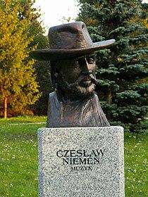 Popiersie Czesław Niemen ssj 20060914.jpg