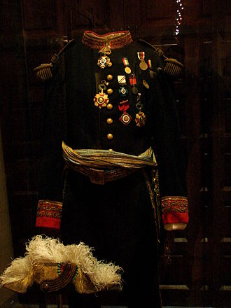 Uniform - Uniform of Porfirio Díaz