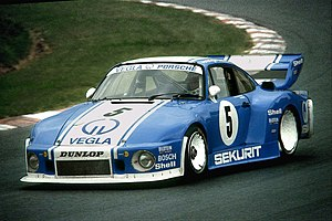 Harald Grohs - Harald Grohs in 1980 with Porsche 935 during practice for 1000 km Nürburgring