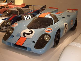 Porsche 917 - Porsche 917 World Sportscar Championship 1970 and 1971 driven by Pedro Rodríguez